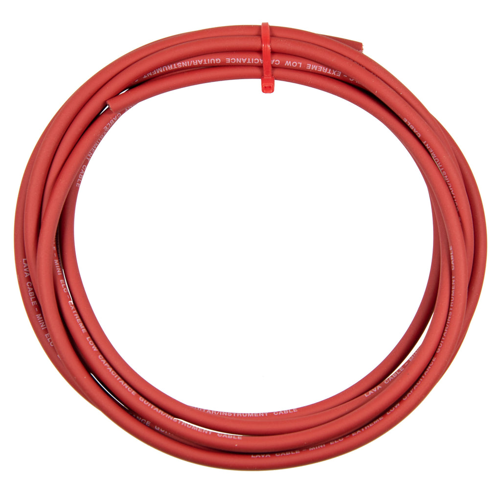 Lava Cable LCMELC-RD Mini ELC Cable - Cherry Red - Sold By The Foot