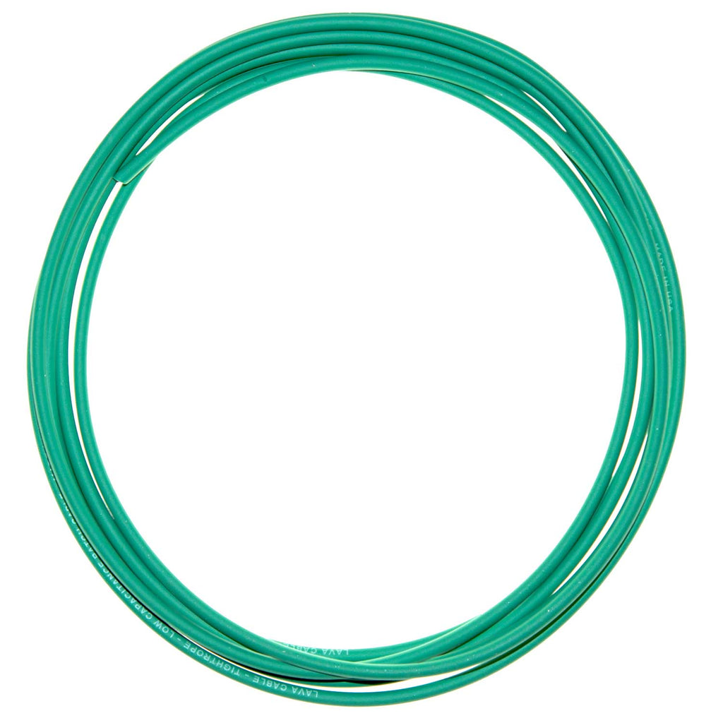 10' Lava Cable Green Tightrope Cable, For Tightrope Plugs