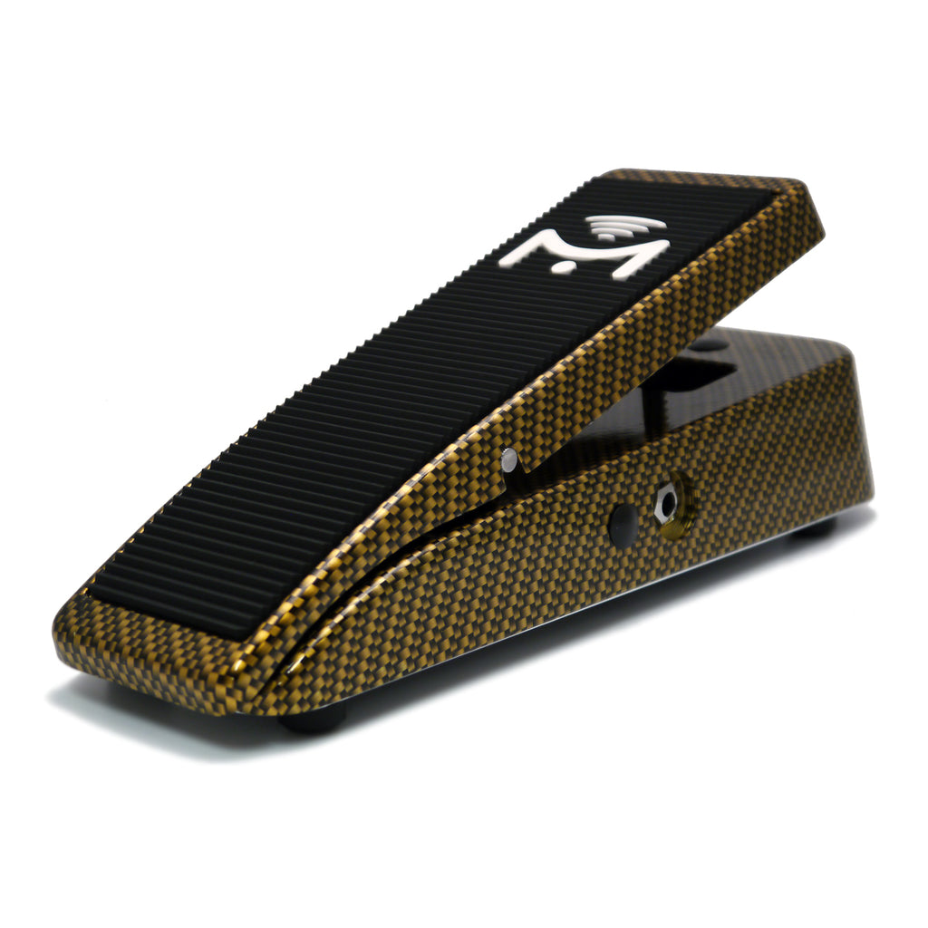 Mission Engineering EP-25-PRO Aero Gold Carbon Finish Expression Pedal