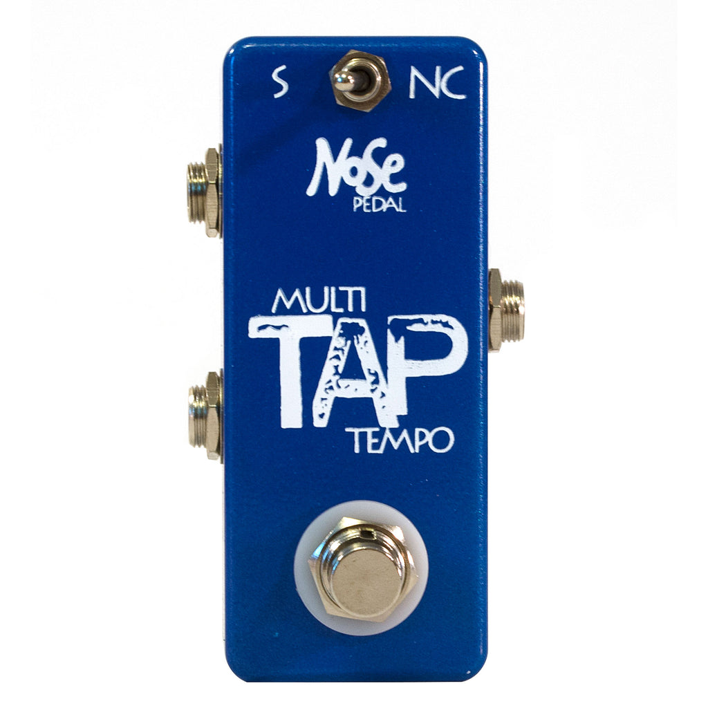 Nose Multi Tap Tempo Pedal - Works with Boss DD-7 DD-5 RC-2 & more (MTT)