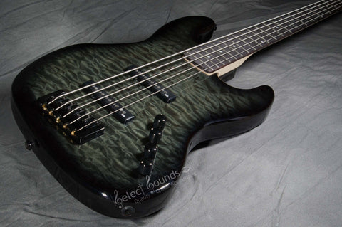 Spector CodaBass 5 Pro 5-String Bass With Black Stain Gloss