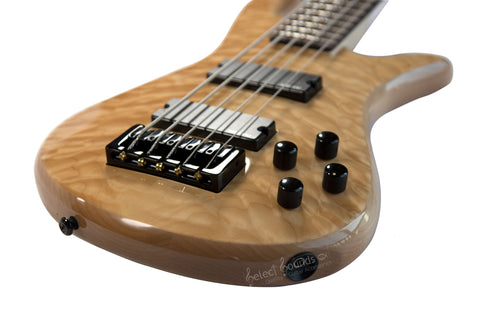 Spector Legend Classic 5-String Bass Guitar Natural Gloss Finish (LG5CLSNAT)