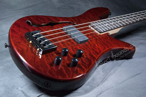 Spector SpectorCore 4 Bass With Walnut Stain Gloss Finish