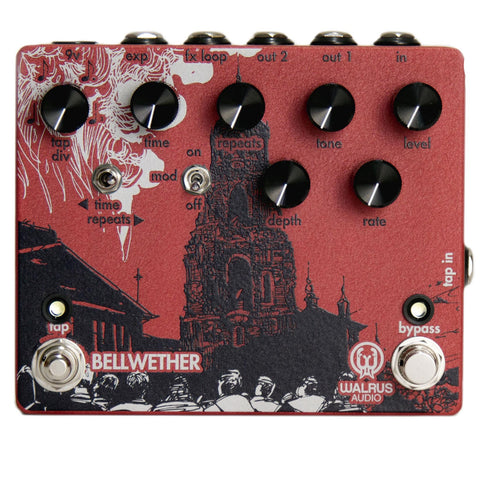 Walrus Audio Bellwether Analog Delay V1 Pedal
