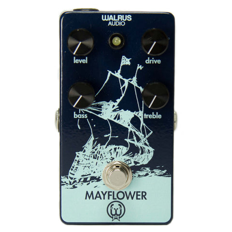 Walrus Audio Mayflower Mid-Range True-Bypass Overdrive Pedal