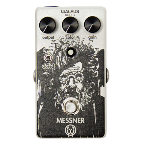 Walrus Audio Messner Lo-Gain Transparent Overdrive Pedal