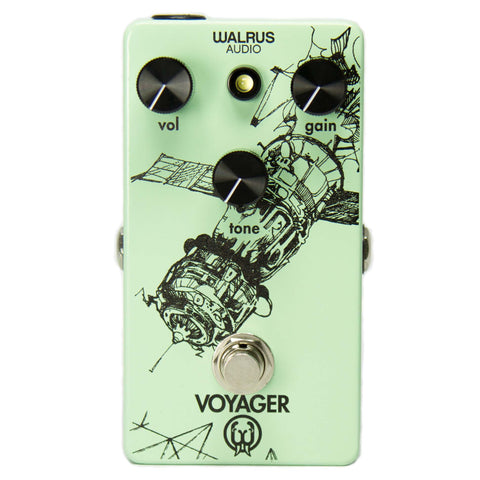 Walrus Audio Voyager Gain/Preamp Overdrive Pedal