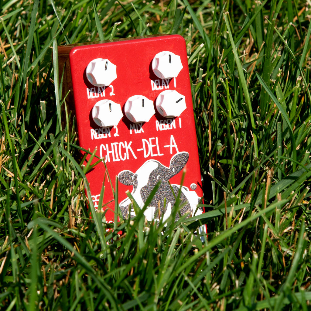 Westminster EFX Chick-del-A Pedal - Multi-head Tape Delay Emulator