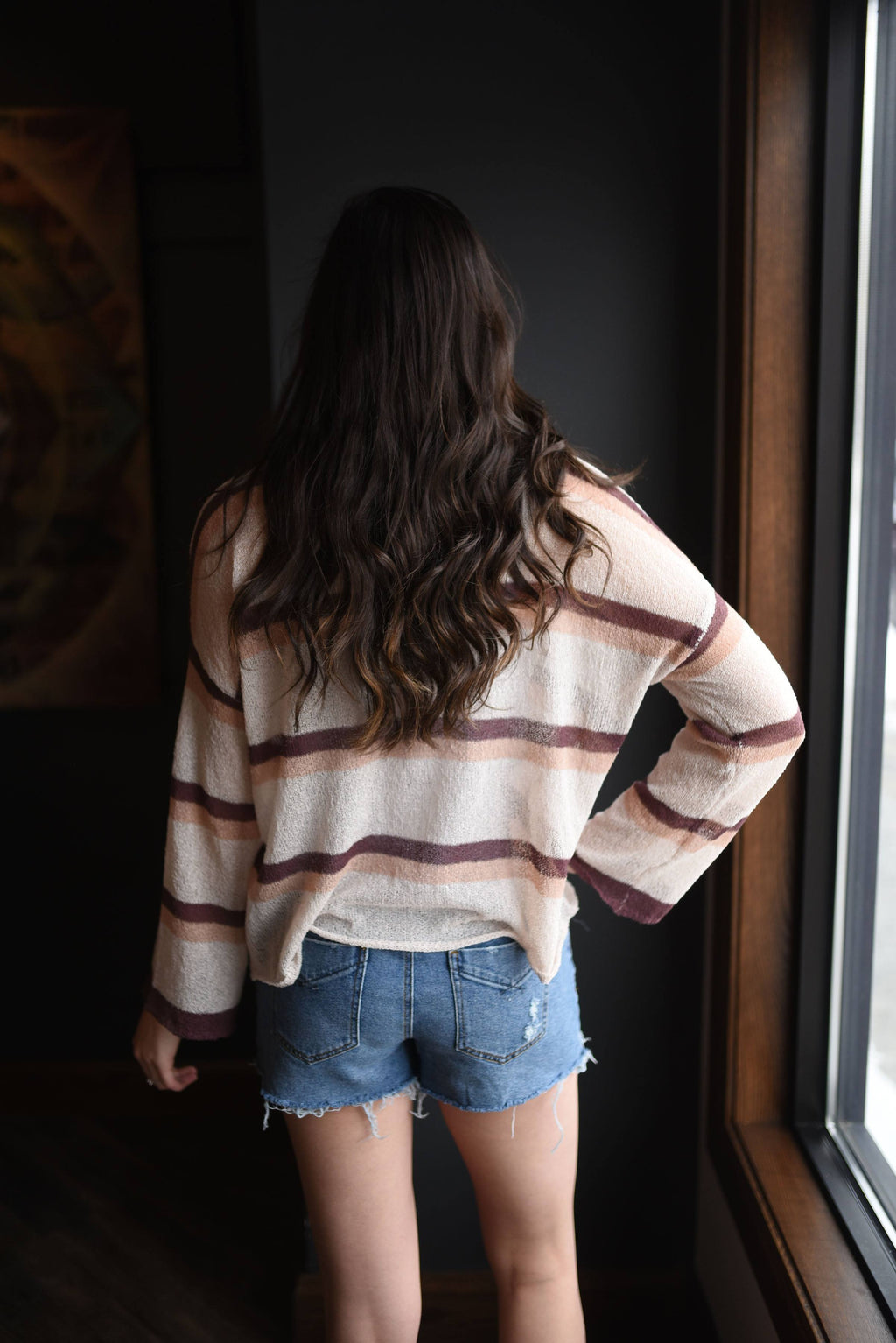 Wind Down Spring Sweater- Natural