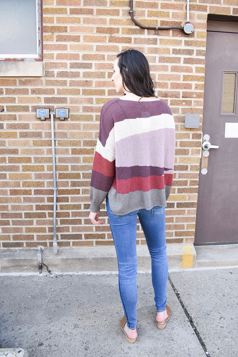 Under the Radar Light Sweater - Mauve