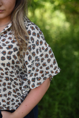 Learn To Love Leopard Top