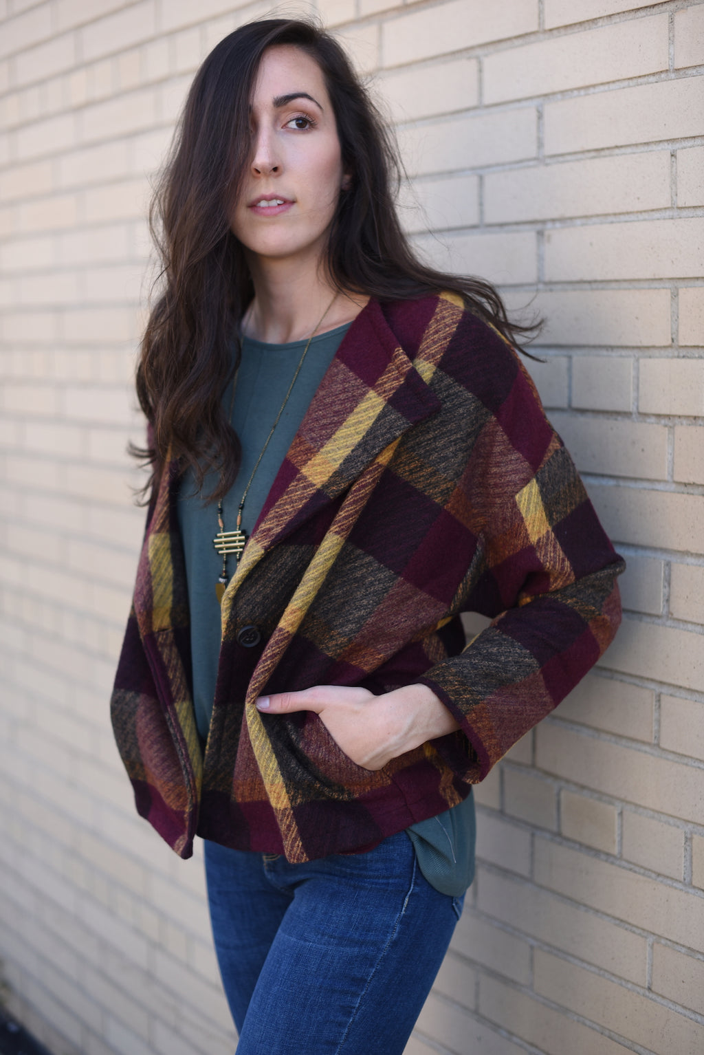 Hometown Plaid Jacket