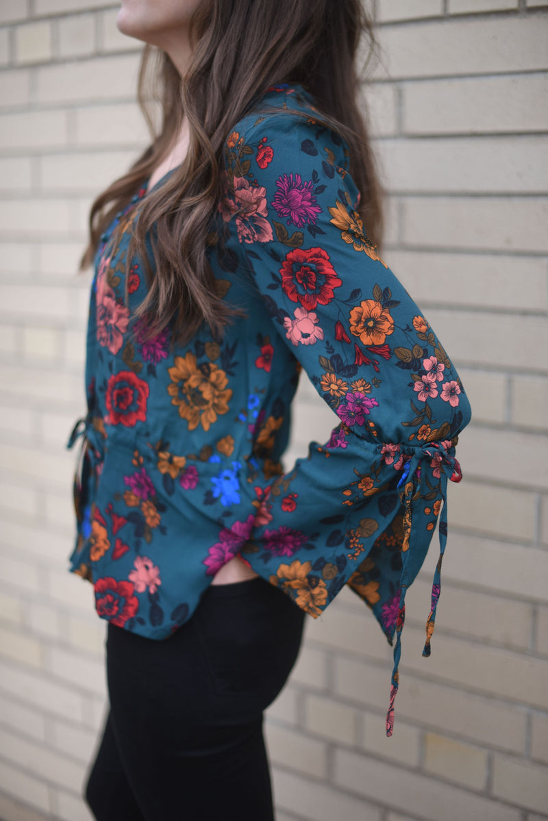Floral Flashback Blouse