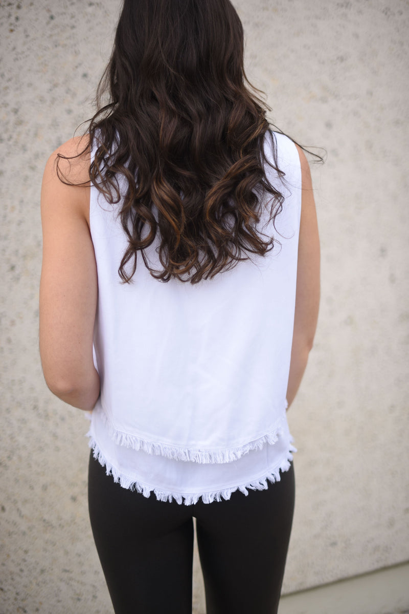Take It Easy Fringe Tank