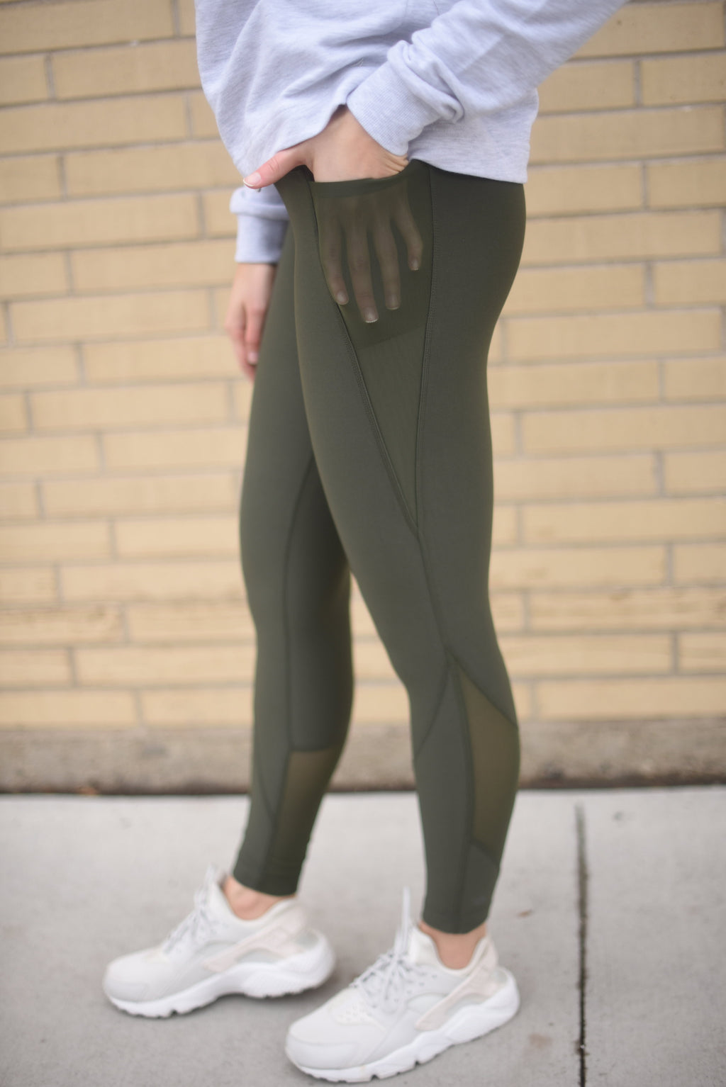 Coach Leaf Leggings