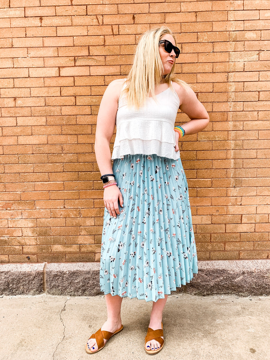 Gillie Pleated Skirt