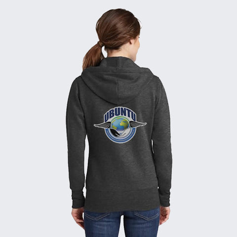 Ubuntu Hoodie Unisex - Black heather