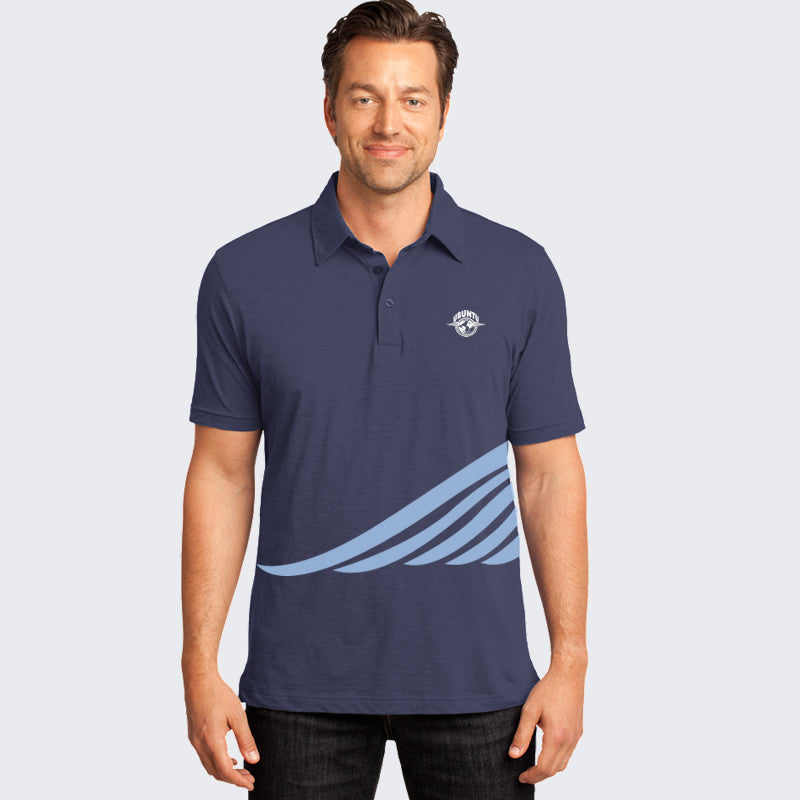 Ubuntu New Era... Polo Men's - Deep Sea Blue