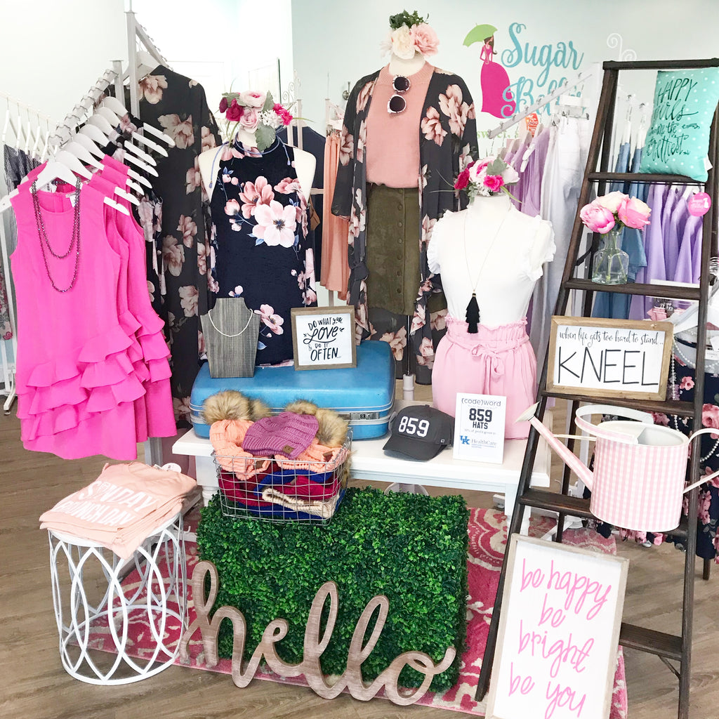 Shop our Boutiques in Lexington & Winchester Kentucky!