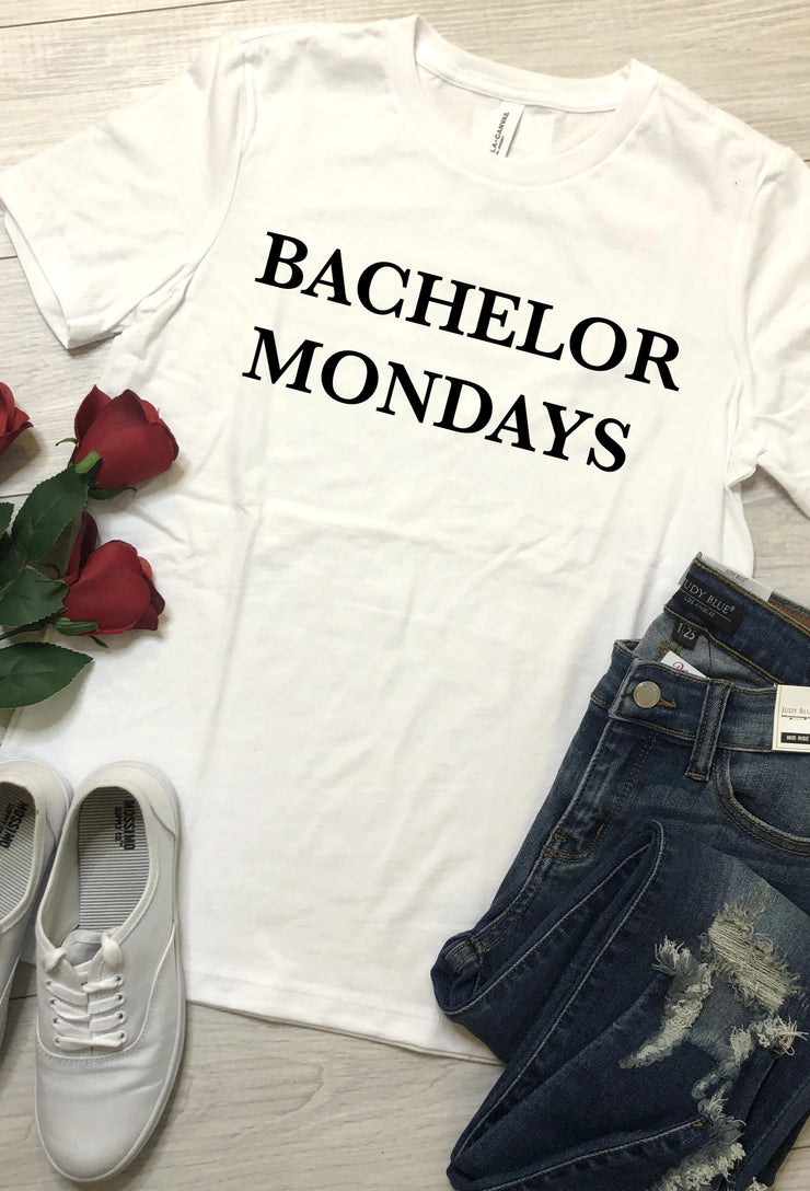 Bachelor Mondays Tshirt - White