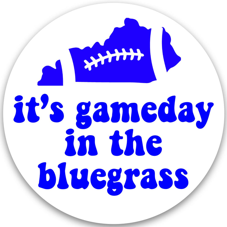 It's Gameday in the Bluegrass Button