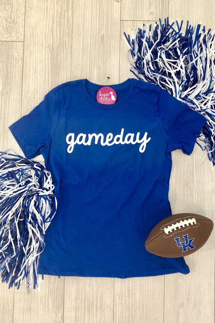Gameday Tee - Royal Blue