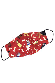 Reusable Cotton Face Mask - Dog Lover