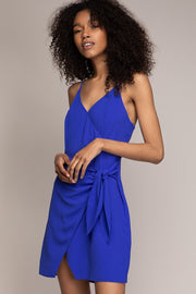 Leighton Wrap Dress - Royal Blue