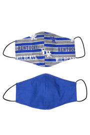 Reusable Cotton Face Mask - Kentucky Stripe