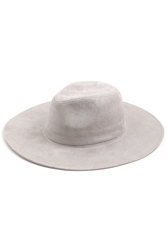 Huntlee Panama Hat - Gray