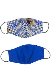 Reusable Cotton Face Mask - Kentucky Check