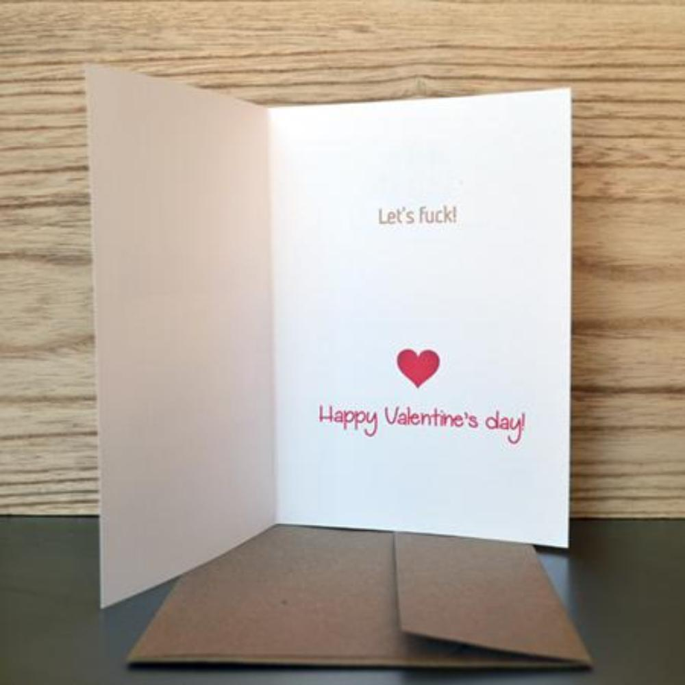 Valentines day cards shock value greetings valentines adult funny inappropriate sexy american greeting cards the word of the day is legs all occasions excellent quality print 100 linen m4hsunfo Gallery