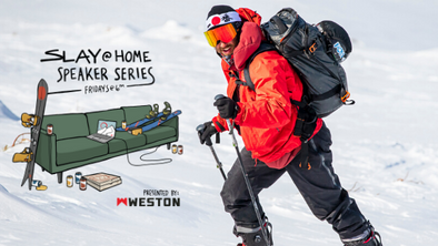 Backcountry Splitboarding/Skiing in Japan TEASER #SlayAtHome Speaker Series