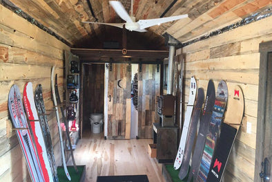ADVENTURE FEST SPOTLIGHT: WESTON'S TINY HOME WITH BIG PLANS