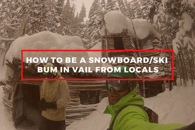 How to Be a Snowboard/Ski Bum in Vail from Locals