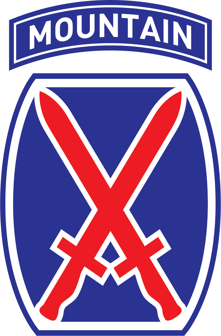 10th mountain division logo