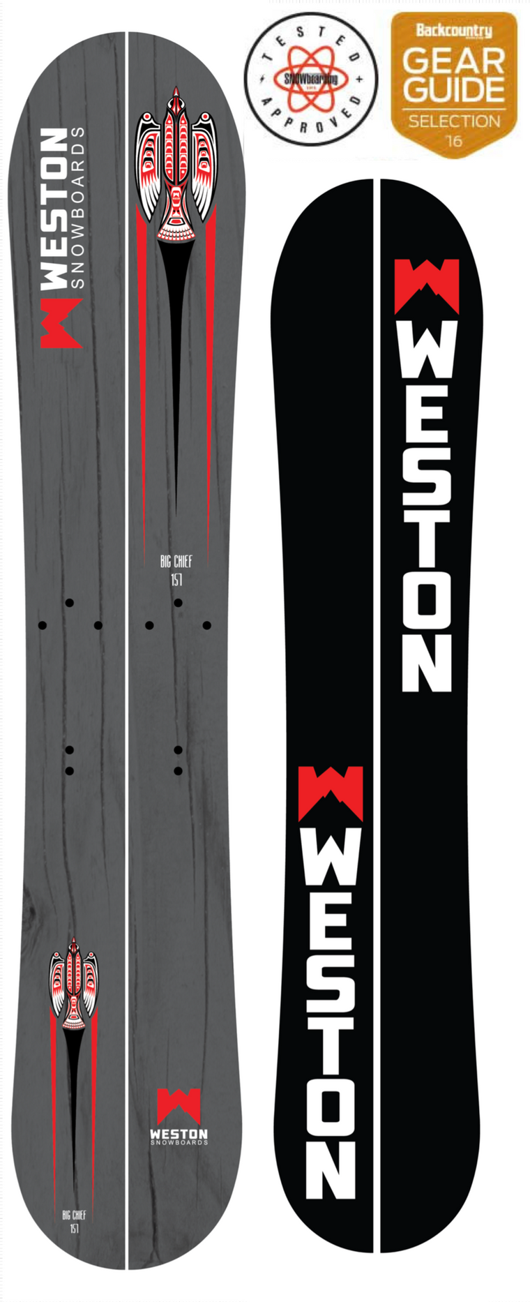 Big Chief Splitboard