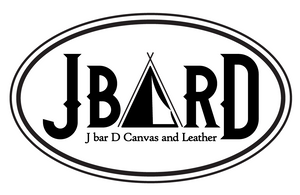 J bar D Canvas and Leather