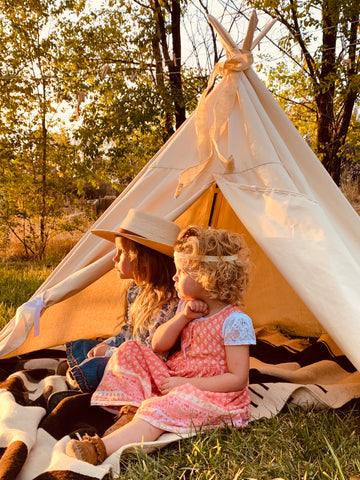 Kiddie Teepee, Tipi, Canvas Tent