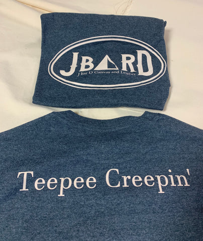 J bar D Logo and Teepee Creepin' T-Shirts