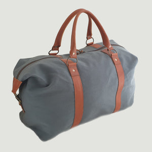 Open image in slideshow, Canvas Travel bag
