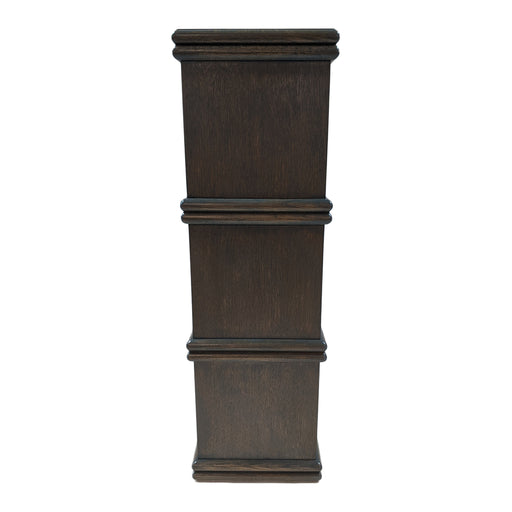 Karl Pedestal<br><small>Size: Custom Height<br>Finish: Gray Oak<br>by @lawsonfenning</small>