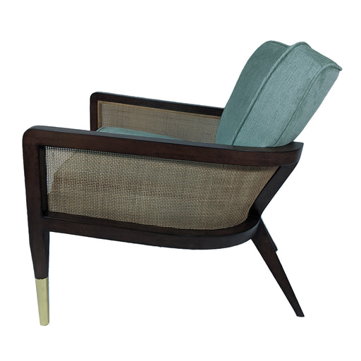 Grant Lounge Chair<br><small>Finish: Mink</small><br><small>Fabric: COM</small><br><small>by @hollyjoeinteriors </small>
