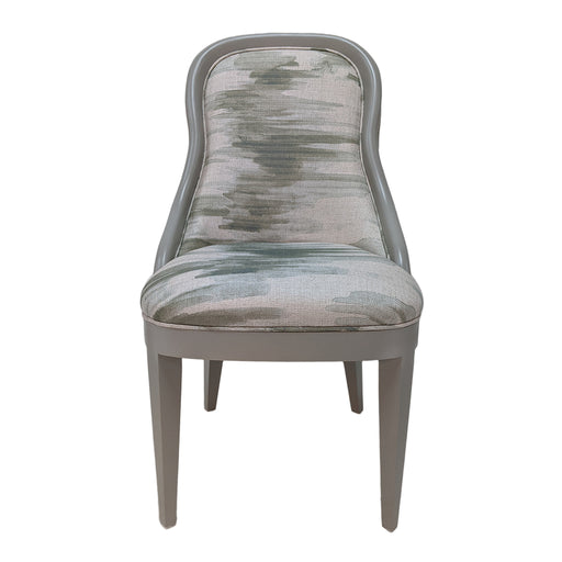 Frenchie Side Chair<br><small>Finish: Mindful Gray<br>Fabric: COM<br>by @ivylaneliving </small>