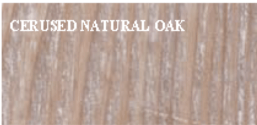 Cerused Natural Oak - Dowel Furniture