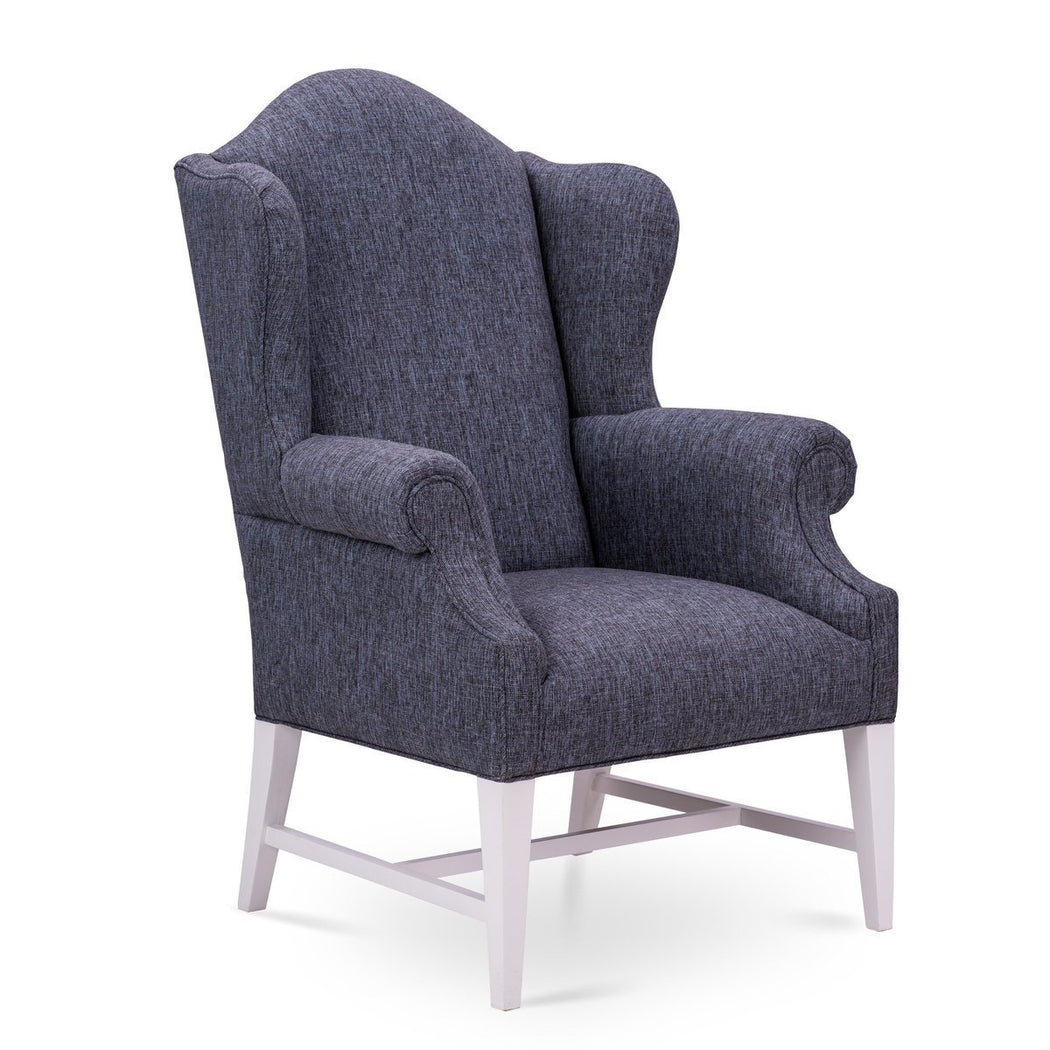 Charles Wing Chair - COM - Dowel Furniture