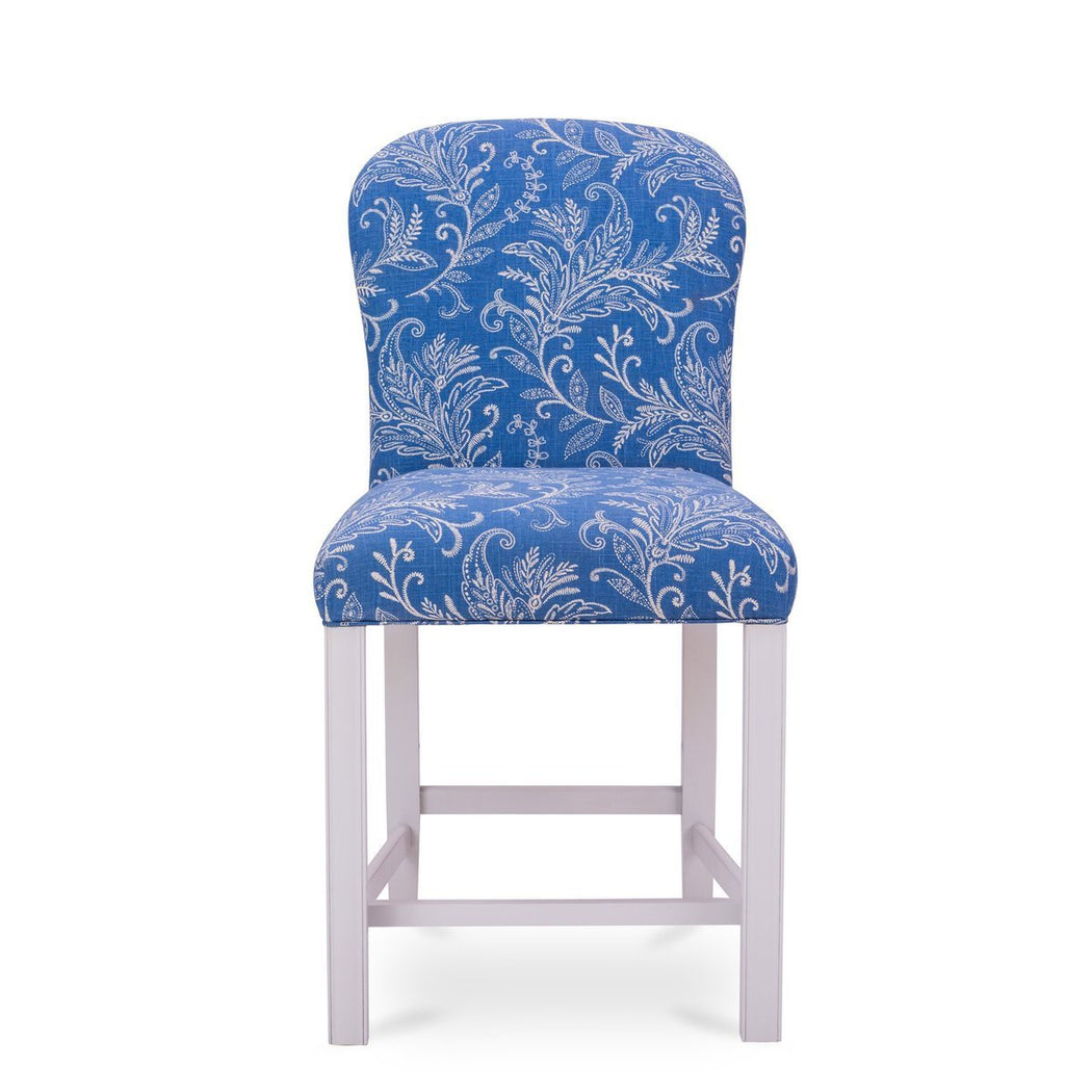 Ellen Upholstered Bar Stool - COM - Dowel Furniture