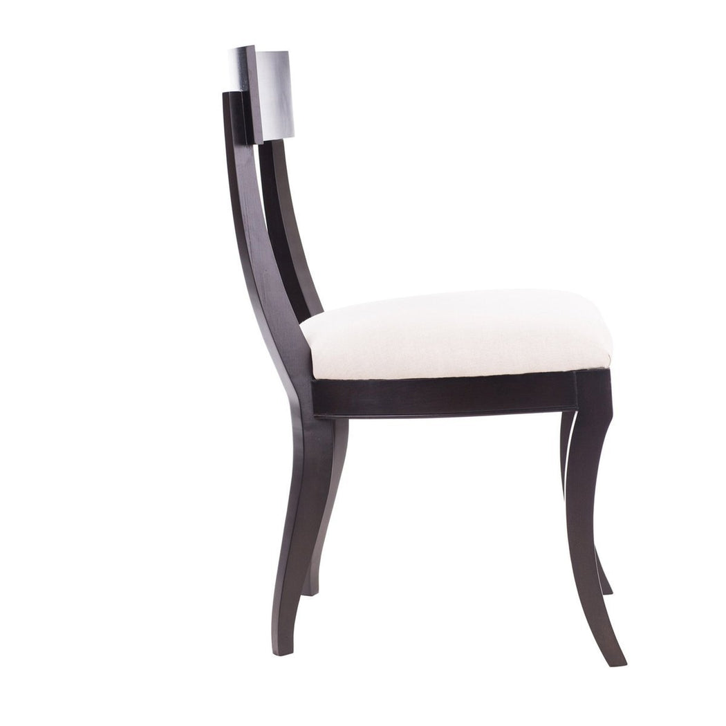 Grace Klismos Side Chair - COM - Dowel Furniture