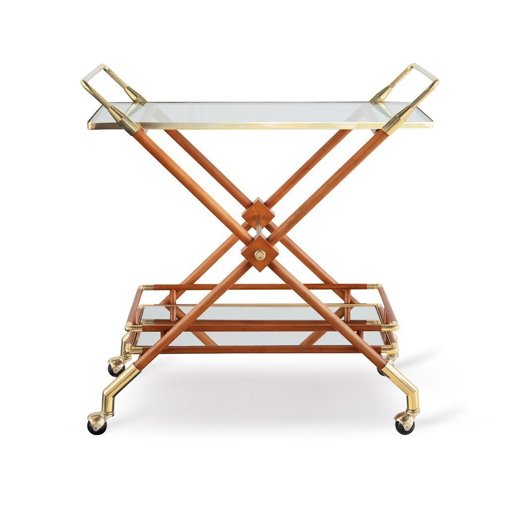 Hudson Bar Cart - Dowel Furniture