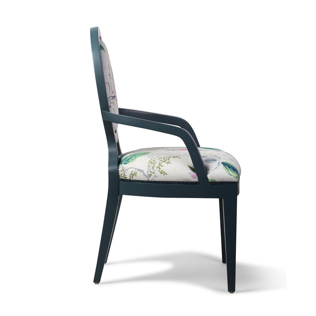 Parisienne Arm Chair - COM - Dowel Furniture